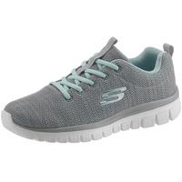 SKECHERS Twisted Fortune Sneaker mit Memory Foam grau 35