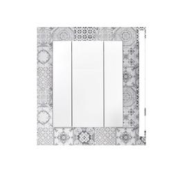 trendteam Spiegelschrank Tone 3-Türig grau