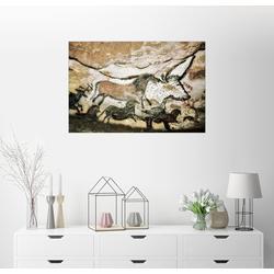 Posterlounge Wandbild, Höhlenmalereien in der Höhle von Lascaux 150 cm x 100 cm