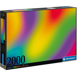 Clementoni® Puzzle Colorboom Collection - Gradient, 2000 Puzzleteile, Made in Europe, FSC® - schützt Wald - weltweit