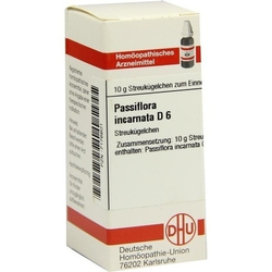 PASSIFLORA INCARNATA D 6 Globuli 10 g