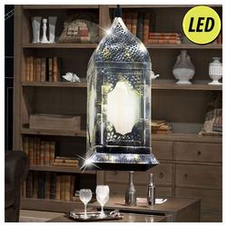 etc-shop LED Laterne, Retro Hänge Decken Lampe Ess Zimmer Pendel Leuchte Laternen Design im Set inkl. LED Leuchtmittel