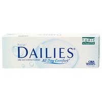 Alcon Focus Dailies Toric 1x30 Kontaktlinsen / BC / 14.2 / CYL -0,75 / Achse 160 / -0,00 Dioptrien
