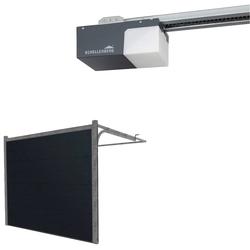 SCHELLENBERG Garagentor, (Set, inkl. Garagentorantrieb), BxH: 237,5x212,5 cm