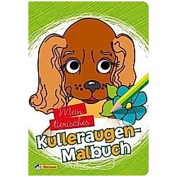 Mein tierisches KULLERAUGEN-MALBUCH - Buch