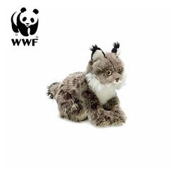 WWF Plüschfigur Plüschtier Luchs (23cm, dunkelbraun)