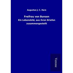 Freifrau von Bunsen als Buch von Augustus J. C. Hare