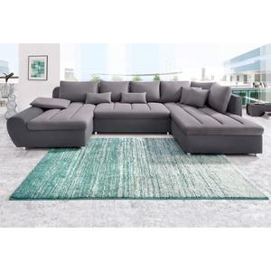 sit&more Wohnlandschaft , grau, 344cm, Recamiere links, »Bandos«, FSC®-zertifiziert