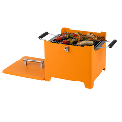 Tepro Chill&Grill Holzkohlegrill Cube orange