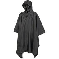 Brandit Textil Brandit Ripstop Poncho schwarz