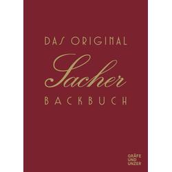 Das Original Sacher-Backbuch als Buch von