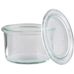 APS Einmachglas Weck, Glas, (Set, 12-tlg), spülmaschinengeeignet 200 ml - Ø 9 cm x 6 cm