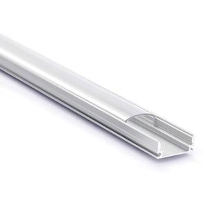 Aluprofil Aluminium Profile Alu Schiene Abdeckung Leiste für LED Strips (1m klar)
