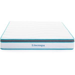 Linenspa Hybrid Federkernmatratze mit Memory-Schaum, H3-H4, Höhe 20cm, 90 x 200