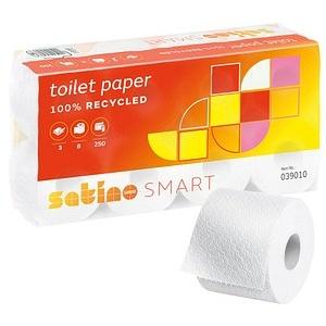 Satino by wepa Toilettenpapier smart 3-lagig 8 Rollen