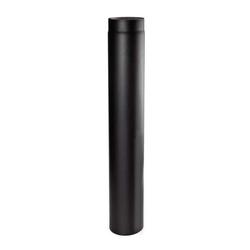 Ø 120 mm - Ofenrohr 100 cm Schwarz