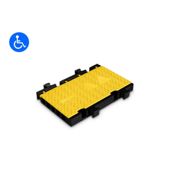 Defender Midi 5 2D HV Modulsystem Rollstuhlrampe, Mittelteil