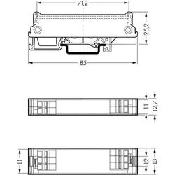 STANGENPROFIL 288-600 1 ST