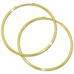 GoldDream Paar Creolen GDO0034Y GoldDream Gold Ohrring Creolen 44mm (Creolen), Damen Creolen aus 333 Gelbgold - 8 Karat, Farbe: gold