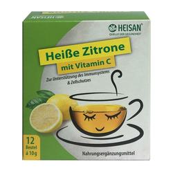 HEISAN heiße Zitrone mit Vitamin C Pulver 12X10 g