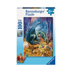 Ravensburger Puzzle XXL-Puzzle Der Höhlendrache, 100 Teile, Puzzleteile