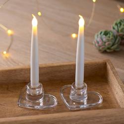 Ella Herz LED Kerzenständer 2er-Set