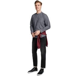 TOM TAILOR Langarmhemd mit modischer Kragenform L (41/42)