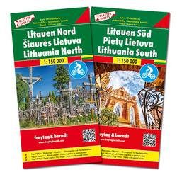 Litauen Autokarten Set 1:150.000