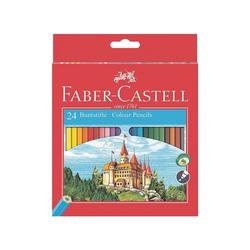 Faber-Castell Buntstift Castle, (Castle, 24-tlg), permanent bunt