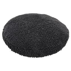 Nobby Komfortkissen rund Moppy grau für Hunde, Maße: Ø 80 x 10 cm