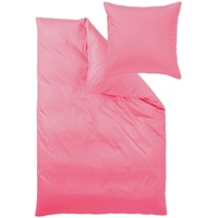 Curt Bauer Uni Mako-Satin pink (155x220+80x80cm)
