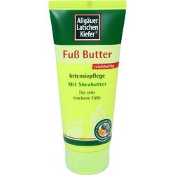 Allgäuer Latschenkiefer Fuß Butter Creme