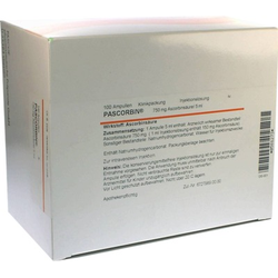 PASCORBIN 750 mg Ascorbinsäure/5ml Injektionslösung