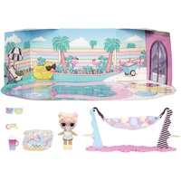 MGA Entertainment L.O.L. Surprise! Furniture with Doll- Chill Patio - Dawn
