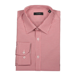 Lavard Rotes Herrenhemd mit Karomuster 93003