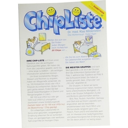 CHIPLISTE Leporello 1 St