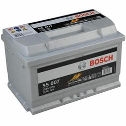 Bosch S5 007 Autobatterie 74Ah
