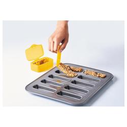 mastrad Müsliriegelform Müsliriegel-Form Set mit Spatel und Transportboxen