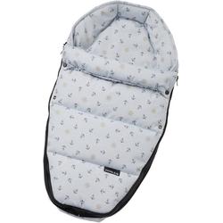 Gesslein Babywanne Baby Nestchen, blau Anker, für Kinderwagenwannen, Tragetaschen, Babyschalen und den Sportwagensitz des Kinderwagens