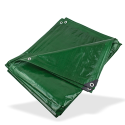 PE - Gewebeplane / Abdeckplane grün 4x6 m 210g/m²