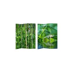 HTI-Line Paravent Paravent Bambus, Nur für den Innenbereich geeignet