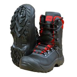 Watex KWF Forst Motorsägen Schnittschutz-Stiefel Leder Class2 (24 m/s) + S3, Stiefelgröße: Watex-8200 Gr. 45