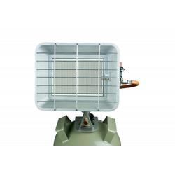 BlueCraft Infrarotheizung, Infrarot-Gas-Heizstrahler mit Flaschenhalterung für Gasflaschen - 4,2 kW