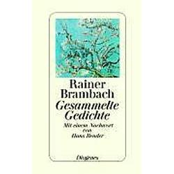 Gesammelte Gedichte. Rainer Brambach  - Buch