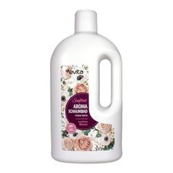 evita Aroma Schaumbad sanfte Blüten, Genießen Sie ein unvergessliches Badeerlebnis mit dem Duft nach sanften Blüten, 2 Liter - Flasche