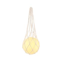 LED-Glaskugel im Netz