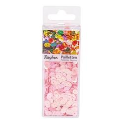 Rayher Streu-Pailletten glatt 6 mm rosa 4.000 St.