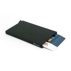 ELLYS! Kartenetui ELLYS! Cardslider für Herren - EL-CS1 schwarz