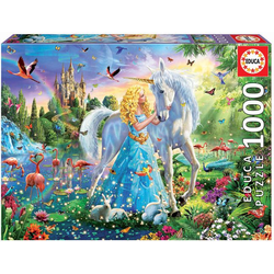 Educa Puzzle. The Princess and the Unicorn 1000 Teile