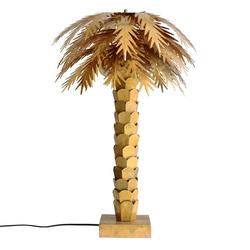 Designer-Tischlampe Palme aus Messing HK Living